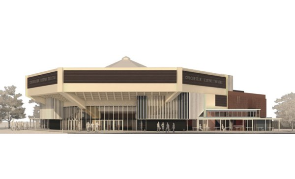 Image of Chichester Festival Theatre via Haworth Tompkins Ltd